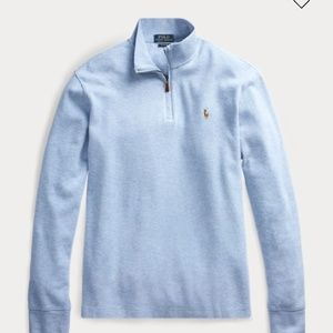Ralph Lauren polo half zip-up sweater size small
